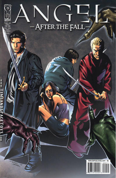 Cover for Angel: After the Fall (2007 series) #9 [Cover B]
