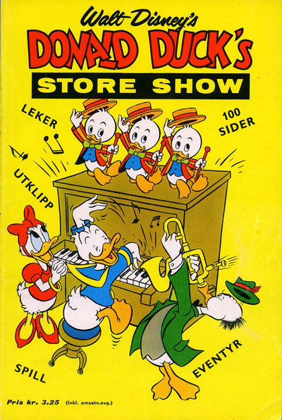 Cover for Donald Duck's Show (Hjemmet, 1957 series) #[7] - Store show [1962]