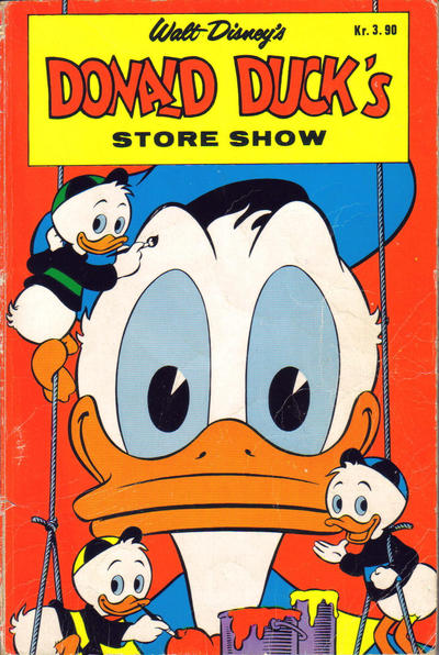 Cover for Donald Duck's Show (Hjemmet, 1957 series) #[store 1968]
