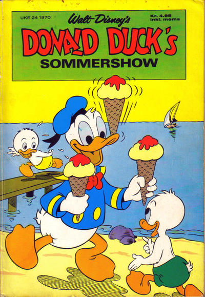 Cover for Donald Duck's Show (1957 series) #[sommer 1970]