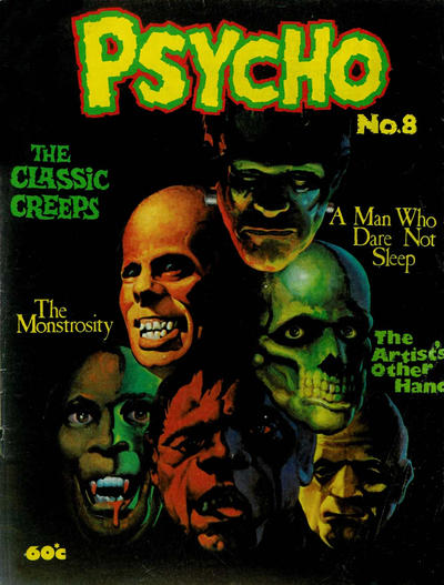 Cover for Psycho (Yaffa / Page, 1976 series) #8