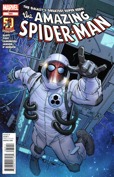 Cover for The Amazing Spider-Man (1999 series) #680