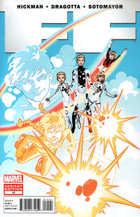 Cover for FF (Marvel, 2011 series) #15