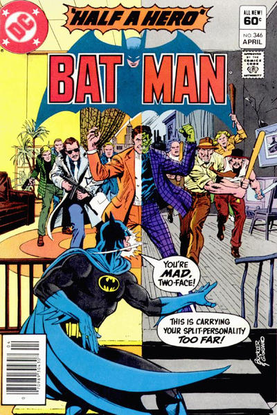 Cover for Batman (DC, 1940 series) #346 [Newsstand]