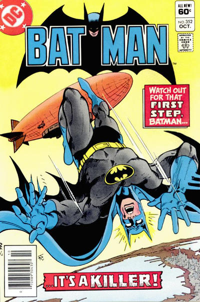Cover for Batman (DC, 1940 series) #352 [Newsstand]