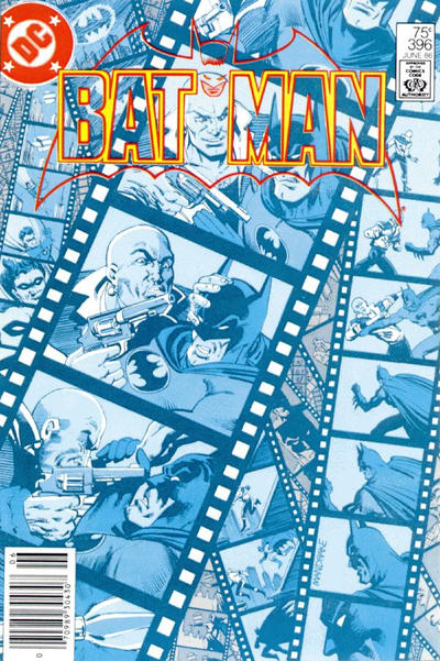 Cover for Batman (DC, 1940 series) #396 [Newsstand]