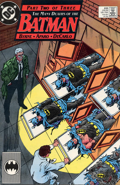 Cover for Batman (1940 series) #434 [Newsstand]