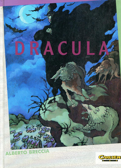 Cover for Carlsen Lux (Carlsen Comics [DE], 1990 series) #36 - Dracula
