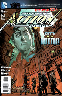 Cover Thumbnail for Action Comics (DC, 2011 series) #7