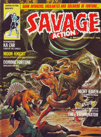 Cover Thumbnail for Savage Action (Marvel UK, 1980 series) #5