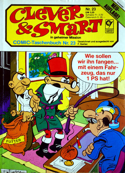 Cover for Clever & Smart (Condor, 1982 series) #23
