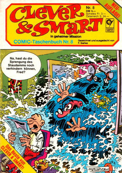 Cover for Clever & Smart (Condor, 1982 series) #8