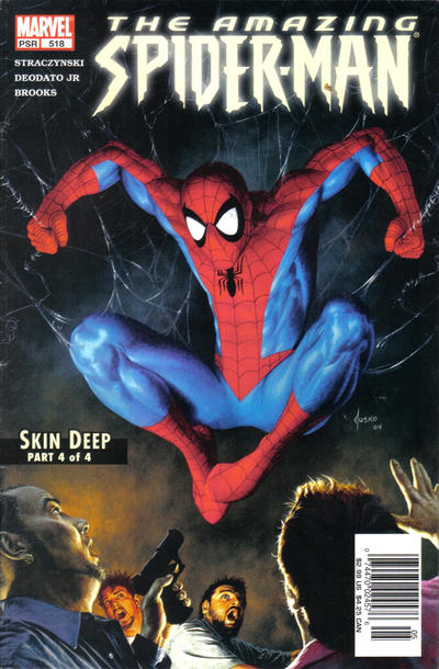 Cover for The Amazing Spider-Man (1999 series) #518 [Newsstand Edition]