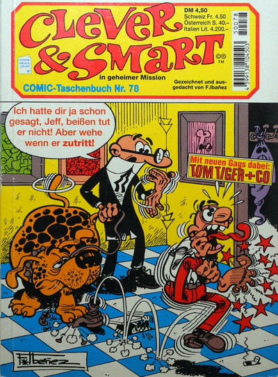 Cover for Clever & Smart (Condor, 1982 series) #78