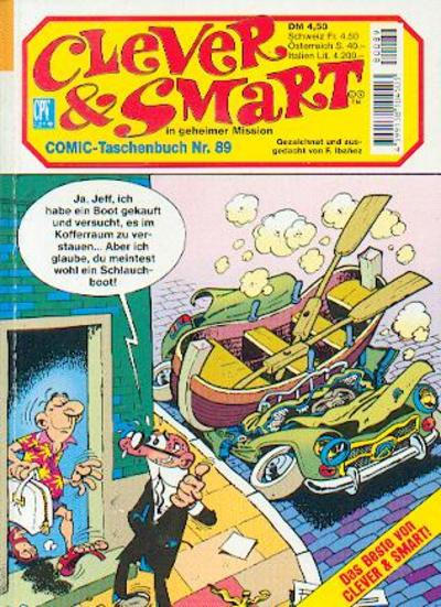 Cover for Clever & Smart (Condor, 1982 series) #89