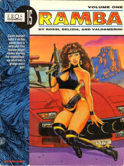 Cover for Eros Graphic Albums (Fantagraphics, 1991 series) #15 - Ramba vol. one
