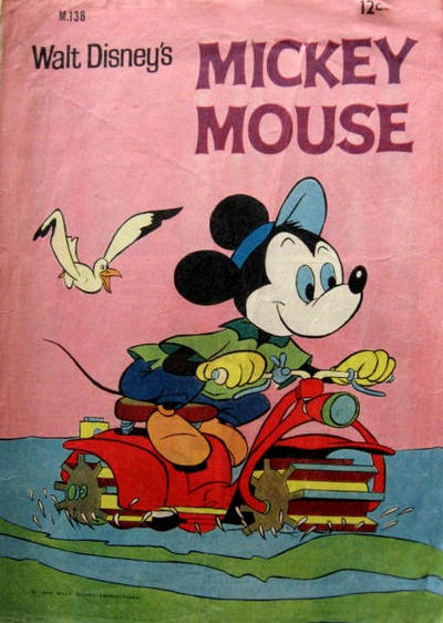 Cover for Walt Disney's Mickey Mouse (W. G. Publications; Wogan Publications, 1956 series) #138