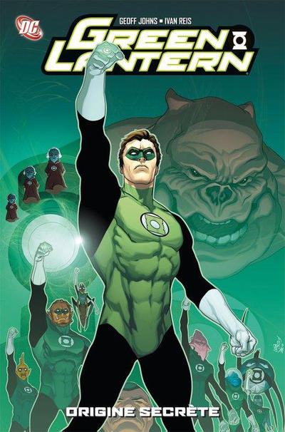 Cover for Best Comics : Green Lantern (Panini France, 2011 series) #1 - Origines secrètes