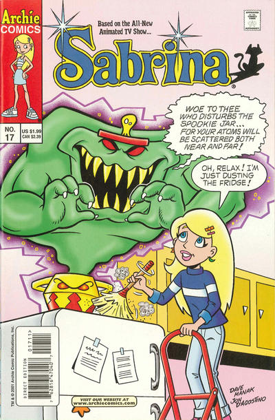 Cover for Sabrina (Archie, 2000 series) #17