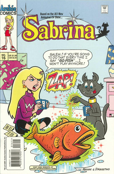 Cover for Sabrina (2000 series) #16