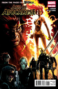 Cover for Age of Apocalypse (2012 series) #1 [Blank Variant Cover]