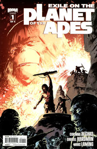 Cover Thumbnail for Exile on the Planet of the Apes (Boom! Studios, 2012 series) #1