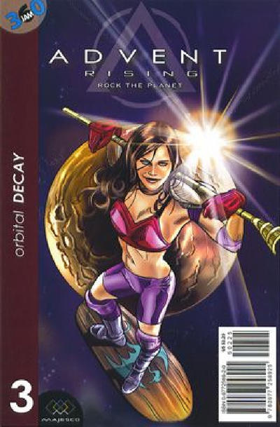 Cover for Advent Rising: Rock The Planet (Majesco, 2005 series) #3