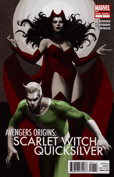 Cover for Avengers Origins: The Scarlet Witch & Quicksilver (Marvel, 2012 series) #1