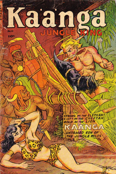 Cover for Ka'a'nga (Superior Publishers Limited, 1952 series) #12