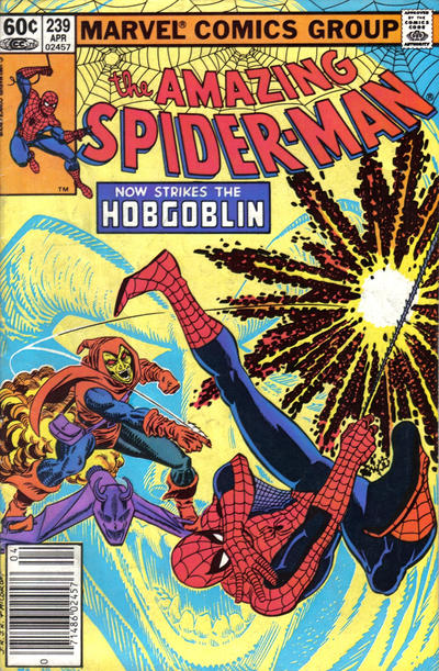 Cover for The Amazing Spider-Man (Marvel, 1963 series) #239 [Newsstand Edition]