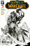 Cover for World of Warcraft (DC, 2008 series) #1 [Jim Lee Sketch Cover (2nd Print)]