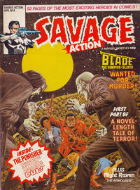 Cover Thumbnail for Savage Action (Marvel UK, 1980 series) #6
