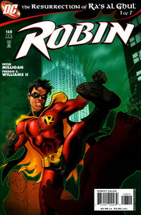 Cover Thumbnail for Robin (DC, 1993 series) #168 [Variant B: 2nd Printing Stephane Roux Variant]