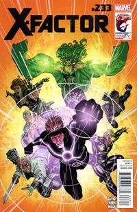 Cover for X-Factor (Marvel, 2006 series) #233