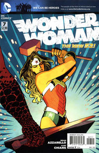 Cover Thumbnail for Wonder Woman (DC, 2011 series) #7