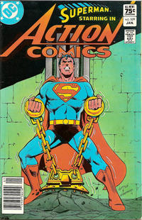 Cover for Action Comics (1938 series) #539 [Newsstand]