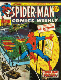 Cover Thumbnail for Spider-Man Comics Weekly (Marvel UK, 1973 series) #51
