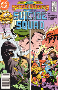 Cover for Secret Origins (DC, 1986 series) #14 [newsstand]
