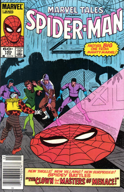 Cover for Marvel Tales (1966 series) #160