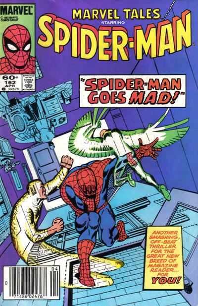 Cover for Marvel Tales (1966 series) #162 [Newsstand Edition]