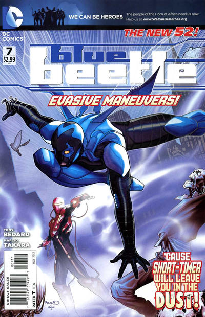 Cover for Blue Beetle (DC, 2011 series) #7