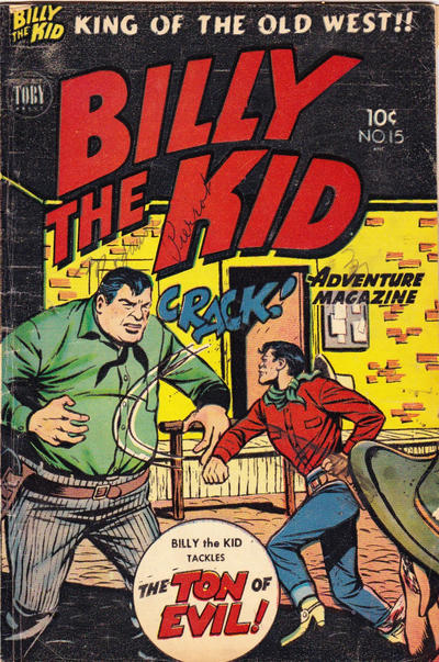 Cover for Billy the Kid (Superior Publishers Limited, 1950 series) #15