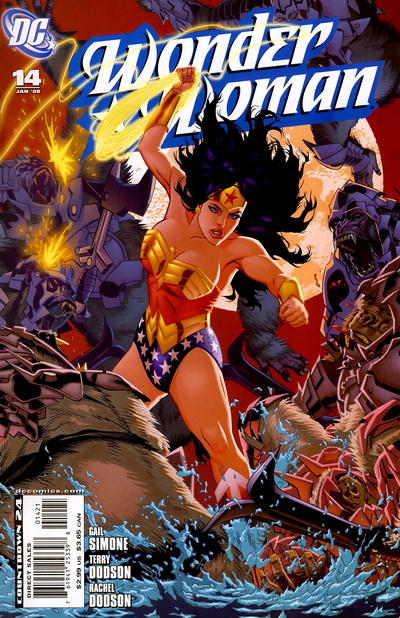 Cover for Wonder Woman (2006 series) #14 [Newsstand Edition]