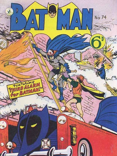 Cover for Batman (K. G. Murray, 1950 series) #74