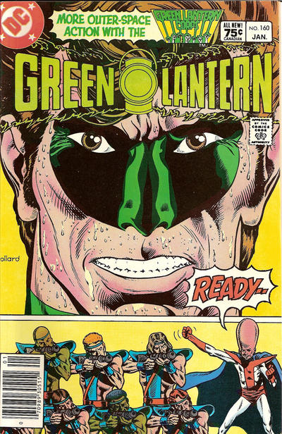 Cover for Green Lantern (1976 series) #160 [Newsstand]