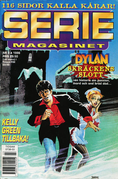 Cover for Seriemagasinet (Semic, 1970 series) #3/1996