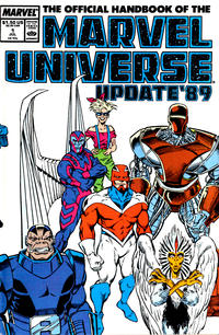 Cover Thumbnail for The Official Handbook of the Marvel Universe (Marvel, 1989 series) #1