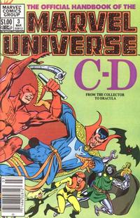 Cover Thumbnail for The Official Handbook of the Marvel Universe (Marvel, 1983 series) #3
