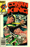 Cover Thumbnail for Conan the King (1984 series) #30 [Canadian Newsstand Edition]