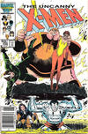 Cover Thumbnail for The Uncanny X-Men (1981 series) #206 [Canadian variant]